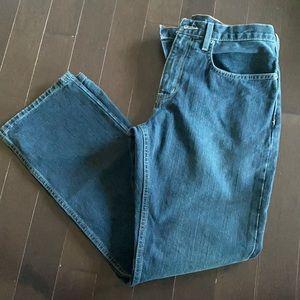 Eddie Bauer Straight Washed Jeans